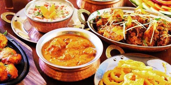 Otevřený voucher do indické restaurace