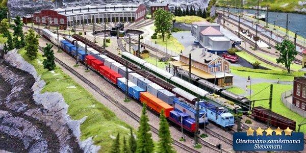 Zážitek v úžasném Království železnic