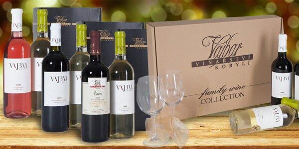 Luxusní dárkové sady vín přímo od vinaře