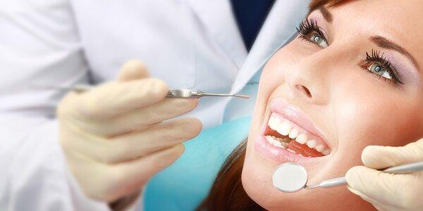 Dentální hygiena s fluoridací i air-flow