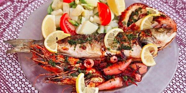 Středomořské speciality na grilu