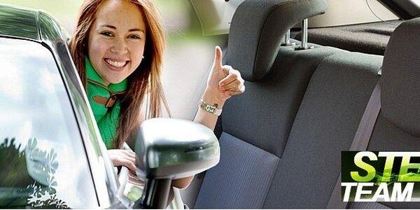 Účinné tepování sedadel včetně dveří a kufru
