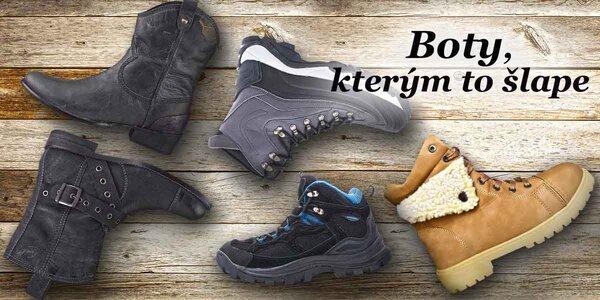 Dámské a pánské boty do zimních měsíců