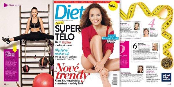 Roční předplatné časopisu Dieta