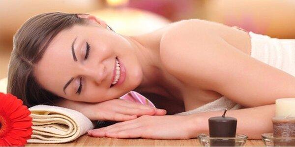Relaxační či zdravotní masáž dle výběru