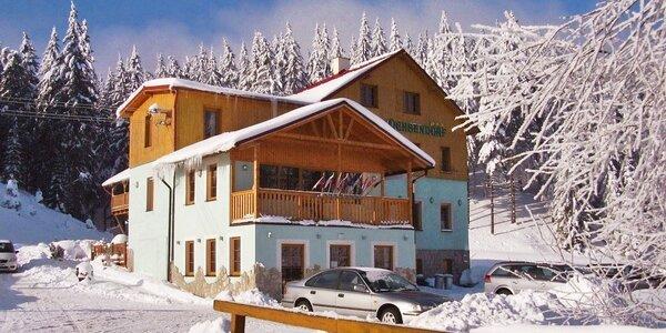 Pohodový zimní pobyt v Krušných horách
