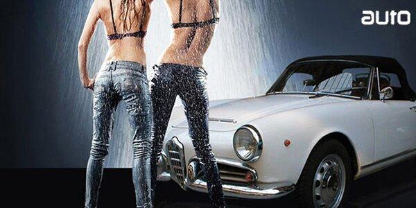 Ruční mytí vašeho vozu- výběr ze 4 programů