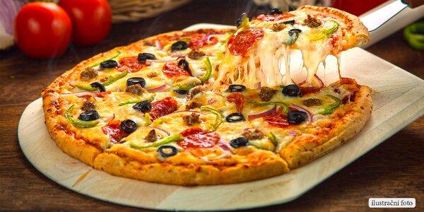 Největší pizza v Brně – spousta druhů
