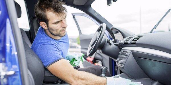 Profesionální čištění interiéru vozidel