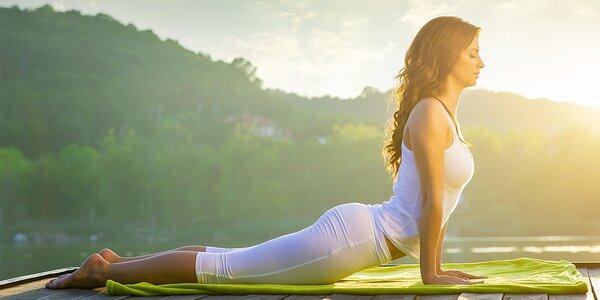 5 lekcí jógy ve studiu Yogazone