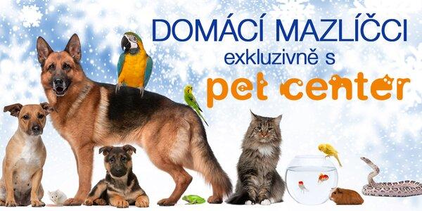 Vše pro domácí mazlíčky od Pet Center
