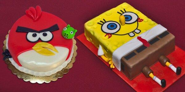 Pohádkový dort: Chutný, pěkný a až pro 16 osob