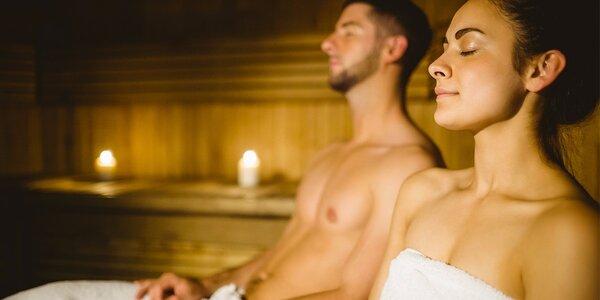 2 vstupy na hřejivou relaxaci ve finské sauně