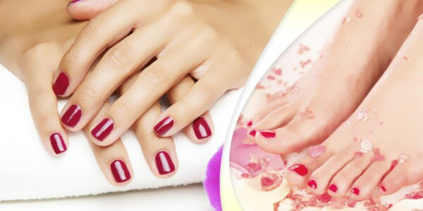 Komplexní péče o nehty, manikúra, pedikúra i gelovky