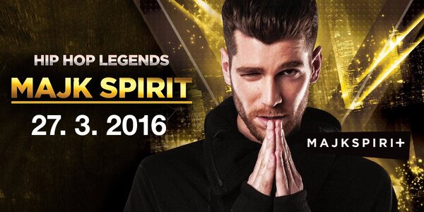 Majk Spirit live & DJ Wich v Music Clubu Dolská