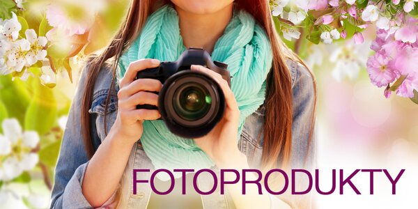 Zachyťte ty nejkrásnější okamžiky s fotoprodukty