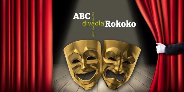 50% sleva na lístky do divadla Rokoko a ABC