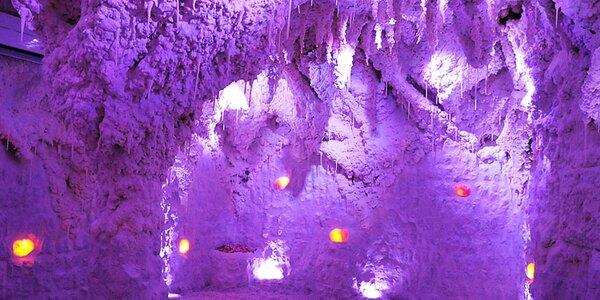 50 minut v solno-jodové jeskyni