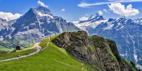 Poznávací zájezd do švýcarských Alp na 4 noci