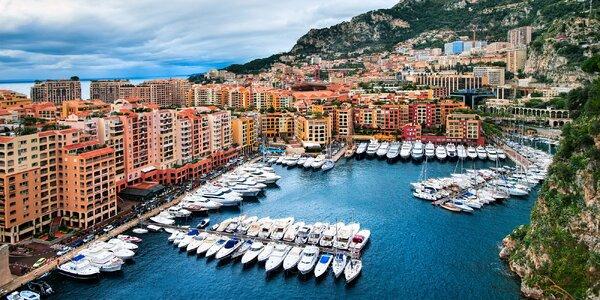 Francouzská riviéra s výletem do Monaka