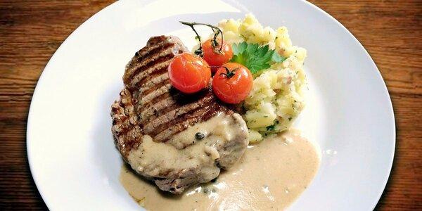 Pořádný kus masa – 2x steak z hovězí roštěné