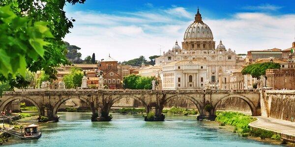 Řím, Florencie, Verona a Benátky vč. snídaně
