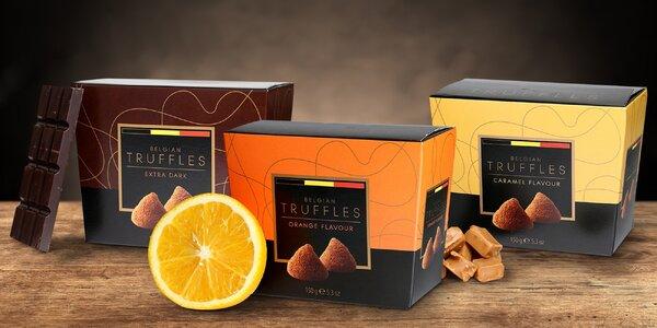 Lahodné čokoládové truffles různých příchutí