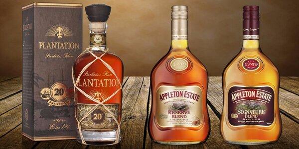 Výběr z 8 luxusních karibských rumů
