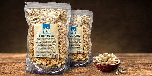 Chutné kešu ořechy pro chvíle pohody