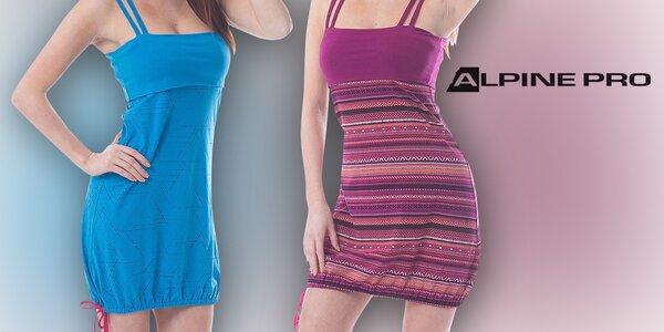 Dámské letní šaty na ramínka od Alpine Pro