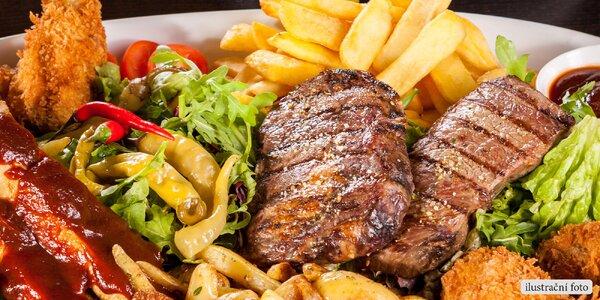 Ulovte 600gramovou nálož grilovaného masa