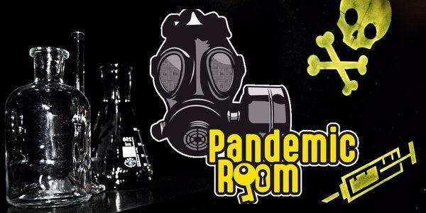Pandemic room: Napínavá únikovka pro 2-5 hráčů