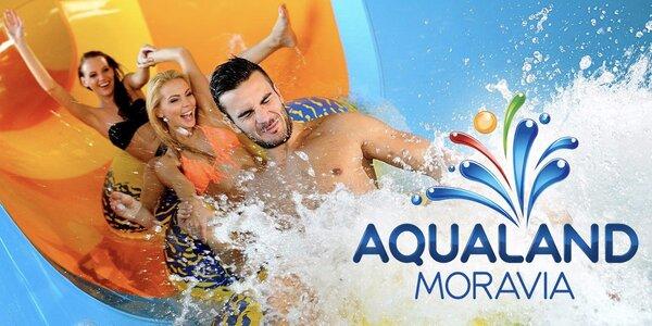 Celodenní vstup do Aqualandu Moravia s wellness