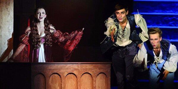Vstupné na světoznámý muzikál Romeo a Julie