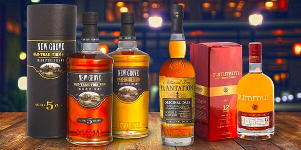 Skvostné rumy z exotických zemí