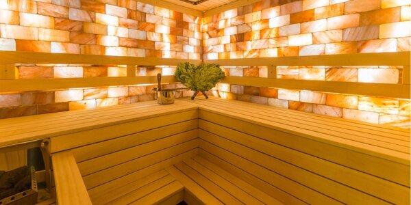 Dvě hodiny v privátní sauně až pro 4 osoby