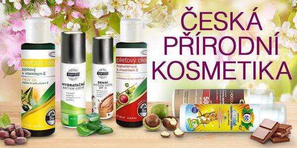 Rozmazlování s českou přírodní kosmetikou Topvet