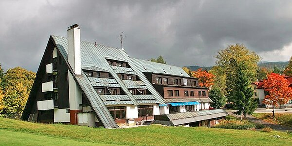 Pohodová dovča pod Čertovou horou v Harrachově