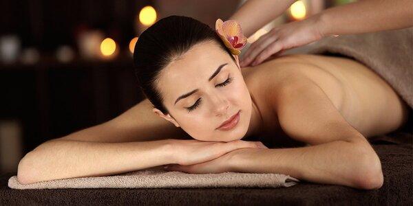 Pohoda s 90minutovou masáží vč. lázně a zábalu