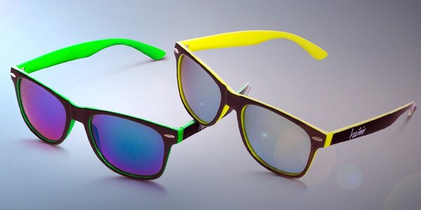 Originální značkové brýle Wayfarer proti slunci