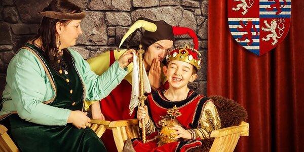 Dětství Karla IV. – rytířský program pro děti