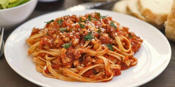 Italské menu pro dva: Domácí těstoviny a dezert