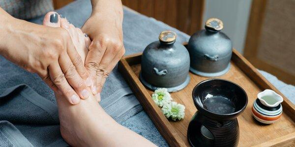 Thajská masáž nohou 60 minut