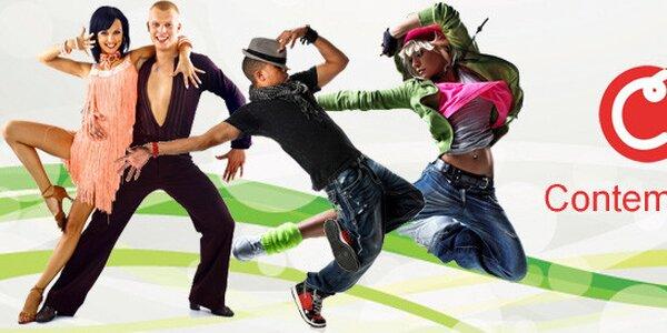 5 lekcí dle výběru v tanečním studiu Contemporary