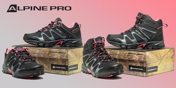 Dámské outdoorové boty Alpine Pro