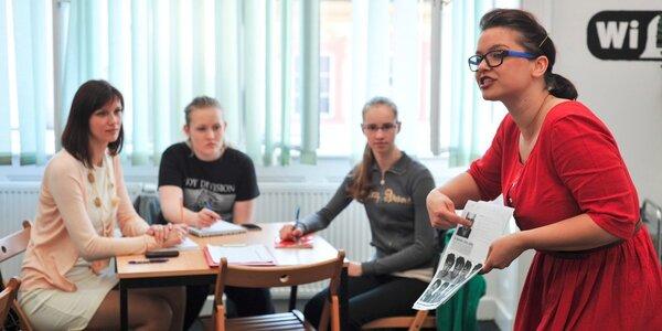 Letní kurz angličtiny v centru Prahy