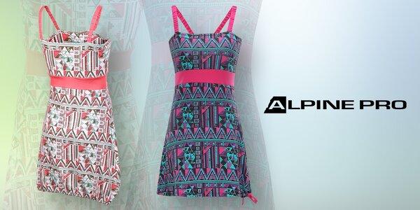 Dámské šaty na ramínka od Alpine Pro