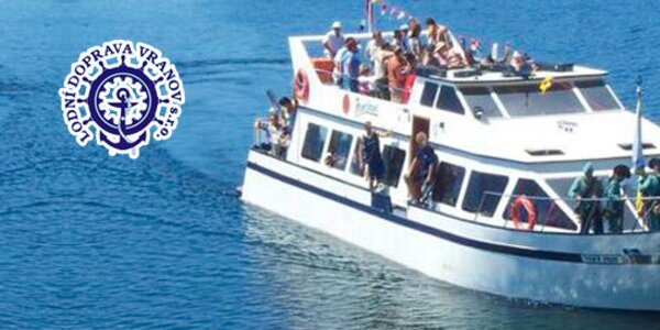 Vyhlídková plavba po Vranovské přehradě (červen)