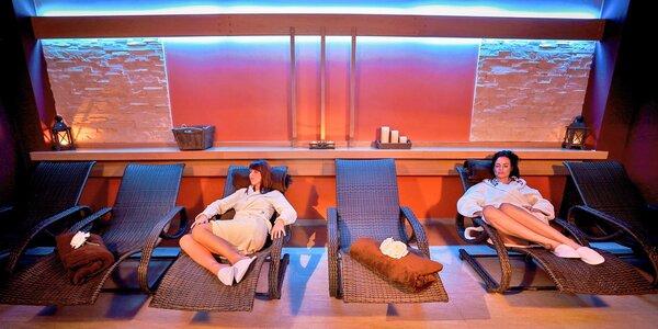 Relaxační pobyt s neomezeným wellness pro dva