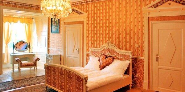 Romantický pobyt v zámeckých apartmánech